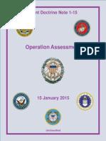 JDN 1-15, Operation Assessment, 2015
