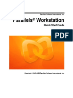 Parallels Workstation Quick Start Guide for Windows
