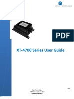 XT-4700 Series User Guide v1.1