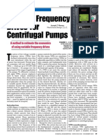 Variable Frequency Drives for Centrifugal Pumps