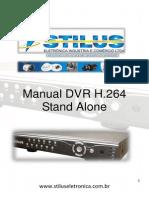 Manual DVR Stilus