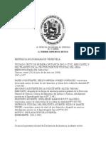 Declaracion de Ausencia Tsj