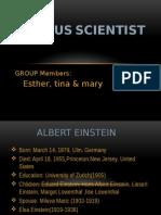 Famous Scientist
