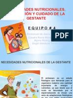 Equipo 4.- Necesidades Nutricionales y Cuidados de La Gestante Recortado