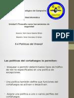5.4Politicas Del Firewall