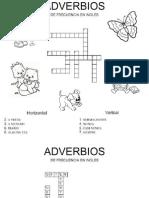 Adverbios de Frecuencia Ingles