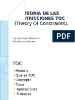 TEORIA+DE+LAS+RESTRICCIONES+presentacion
