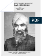 Jodh Singh_Essays on Gurmat Sangeet in Honour of Sardar Jodh Singh