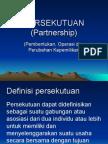Persekutuan Pembentukan Pembagian Laba Pakai