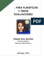 Guía Para Planificar y Crear Evaluaciones
