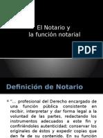 El Notario y La Función Notarial