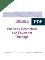Pavement drainage