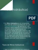 Filtro (hidráulica)