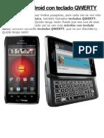 CELULARES Android Con Teclado QWERTY