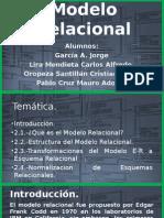 Unidad 2. Modelo Relacional