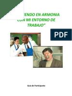 Creciendo en Armonia Con Mi Entorno de Trabajo - Guía Del Participante NO COPIAR