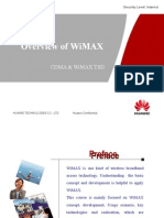 Huawei Wimax Overview