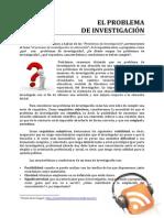 II 02 El Problema de Investigacion