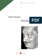 Heidegger Serenidad