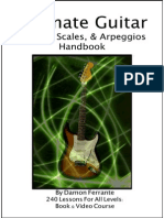 ultimate guitar chords scales