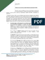 Comunicado - Justicia Transicional Jaime Granados Peña
