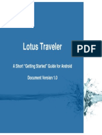 TNDA LotusTraveler UserGuide Android Version1.0