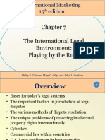 Chapter 07 The International Legal Environment