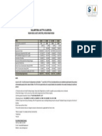 Cadenza - Price Sheet
