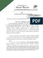 Recurs in interestul legii - Avocatul poporului - Semnatura Electronica CNADNR 2014
