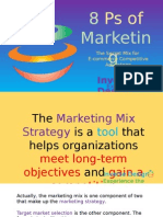 8 Ps Marketing Mix