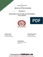Seminar Report 2010-11