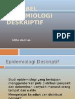 VARIABEL EPIDEMIOLOGI DESKRIPTIF