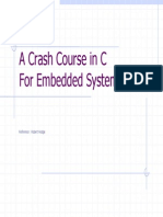 A Crash Course in C Ver 2