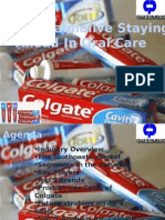 Colgate Palmolive Staying Ahead