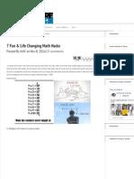 7 Fun & Life Changing Math Hacks