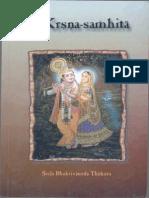 BVT Krishna Samhita Eng