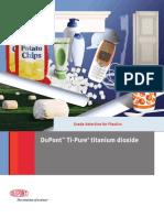 Dupont Tio2 Plastics Plastics Grade