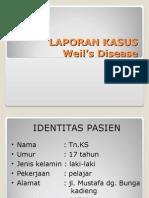 LAPSUS WEIL'S DISEASE.ppt