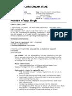 Mukesh Resume