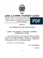 Rules of Procedure and Conduct of Business in JK Legislative Assembly