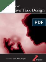 Handbook of Cognetive Task Design