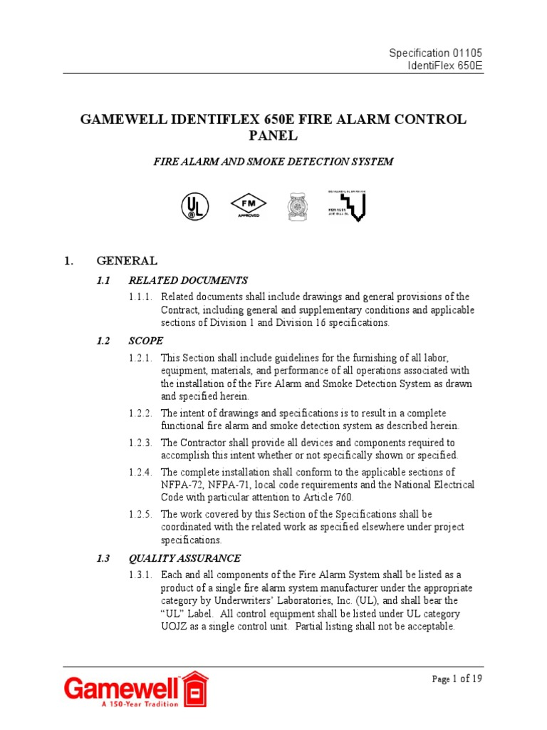 1506648616 gamewell identiflex 650e fire alarm control panel electrical  at suagrazia.org