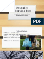 Reusable Shopping Bag presentation