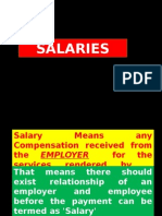 SALARY Theory English
