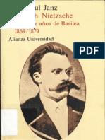 Curt Paul Janz - Friedrich Nietzsche (Vol 2)
