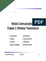 Transmission Wireless