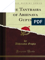 The Tantrasara of Abhinava Gupta
