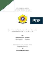 Proposal KP PT. Semen Baturaja
