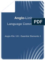 A-F 101 Essential Elements 1