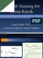 Strength Training Canoe Kayak Ontario - January 2010